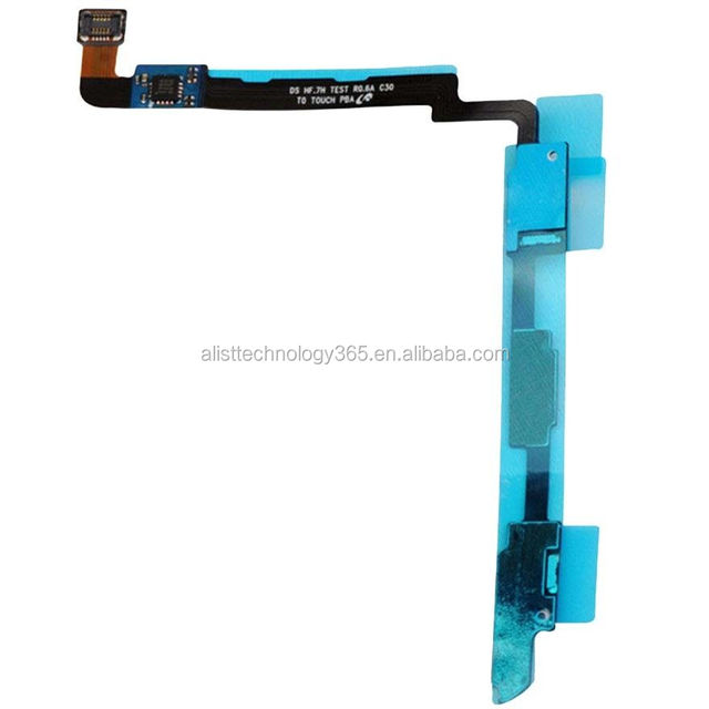 Keypad Touch sensor flex spare parts for Samsung Galaxy Note 2 II N7100