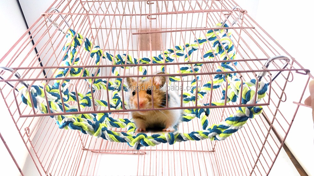 Bird Nest House Hut, Hammock For Parrot Budgies, Cockatoo Conure Lovebird Finch Cage Toy