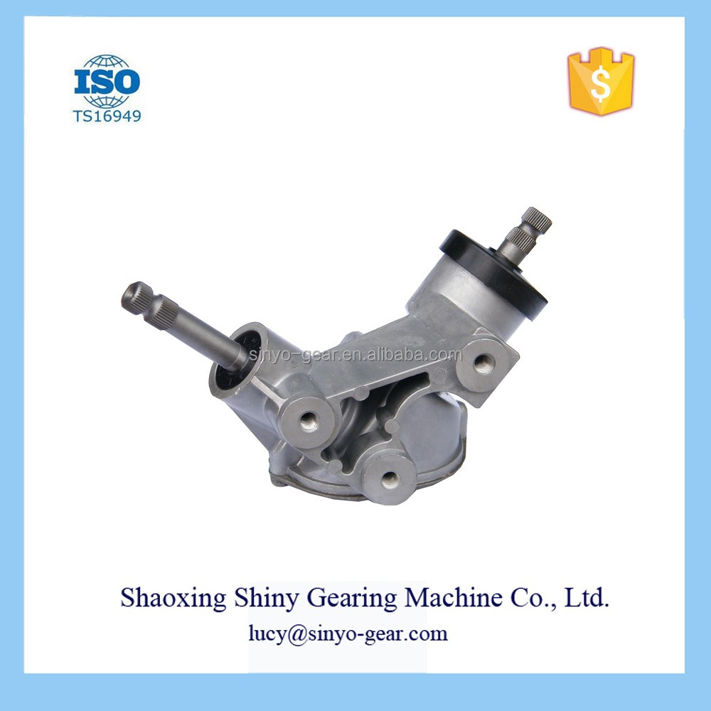 Shiny Spiral Bevel Steering Gear Box Machinery Machine
