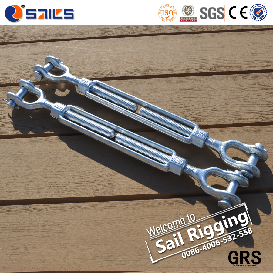 Drop Forged Carbon Steel Galvanized clevis turnbuckle