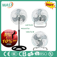 high quality cheap price 12v stand dc fan18' industrial fan