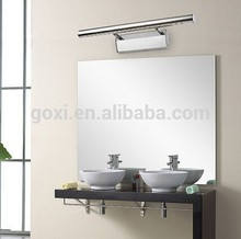 Fashion design 5w 7W 9W LED 400mm 550mm 700mm aluminum bathroom LED mirror light Ip44