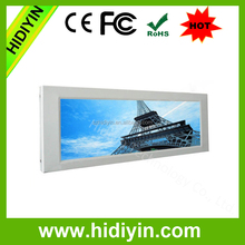 28.8 inch IPS mode tft type Bar lcd used in subway for advertising video display