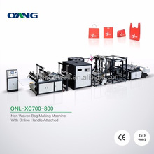 Low Noise China manufacturer pp non woven bag making machine price
