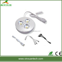 led magnetic cabinet light 3w led under cabinet lights