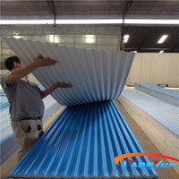 corrugated plastic roofing sheets/interlocking plastic roof tiles/pvc plastic roofing tile