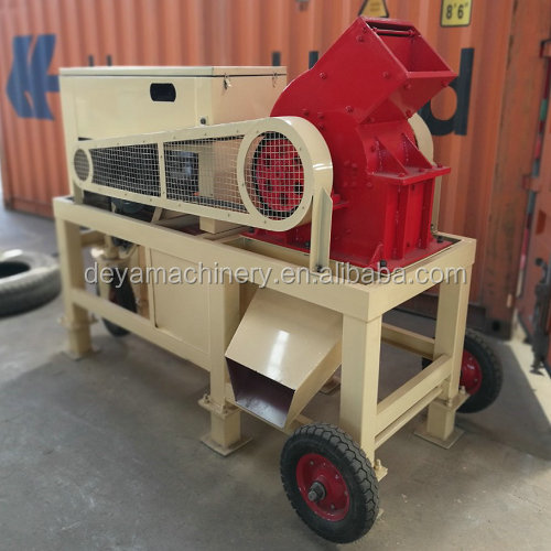 portable diesel engine hammer mill with competitive price
