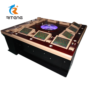12 Player casino wheel roulette game gambling machine for sale