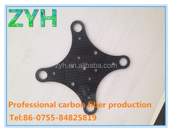 3K twill carbon fiber car key logo for custom design
