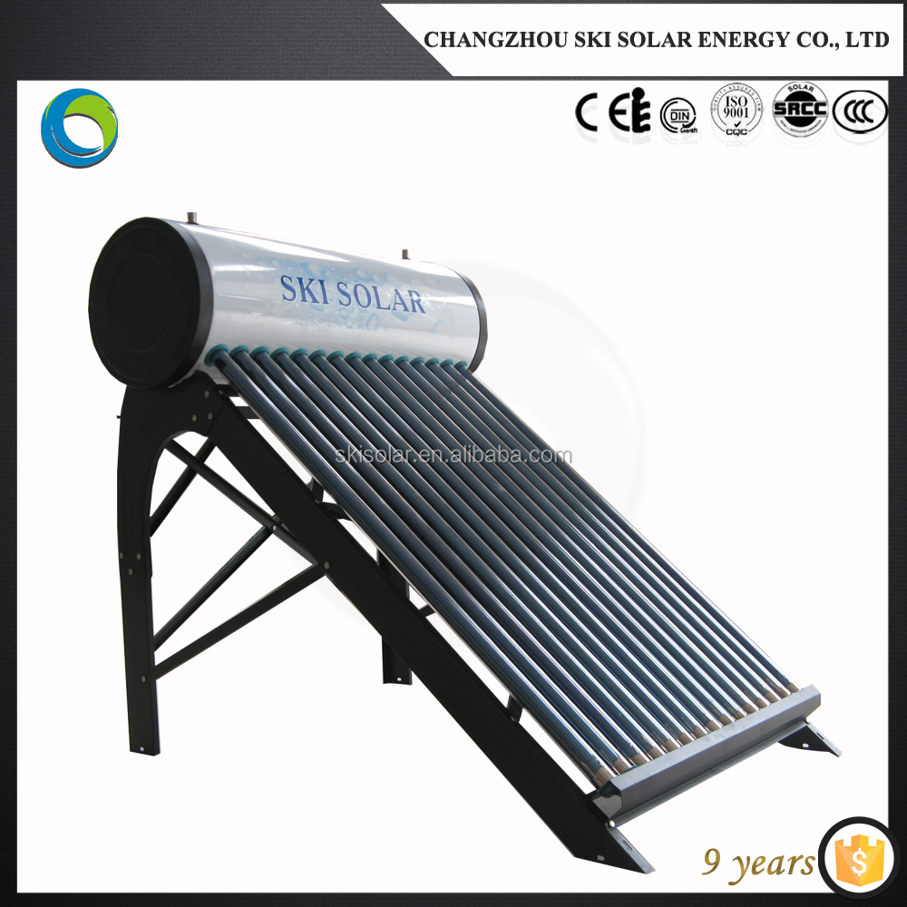 automotic low cost solar water boiler