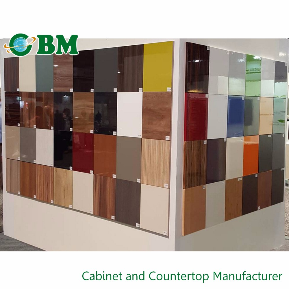 European style frameless kitchen cabinet pvc flat door for Frameless cabinet manufacturers