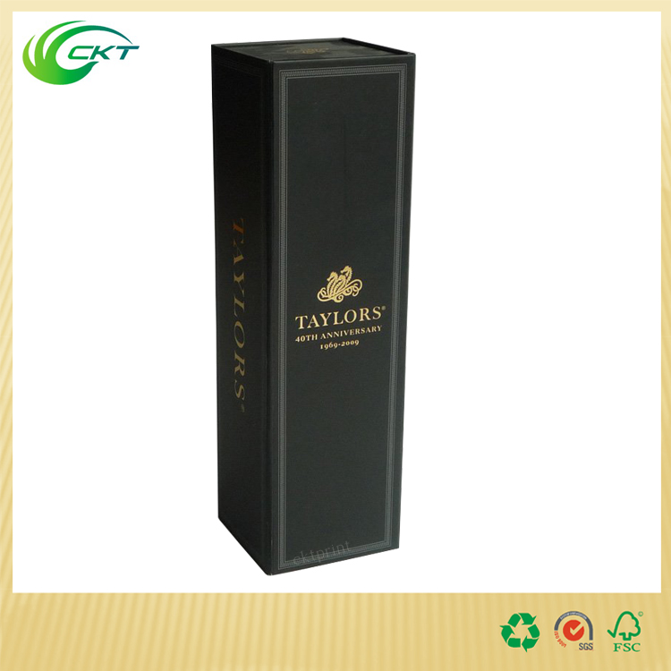 luxury Rigid cardboard Bottle Wine Box manufacture made in China