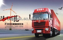 China Super Shacman all wheel drive 6x6 tractor truck better than scania tractors