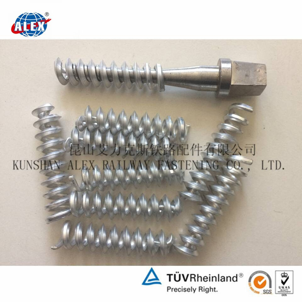 Railway Screw Spike Aluminum insert factory
