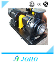 non-clog hydraulic pump with electric motor