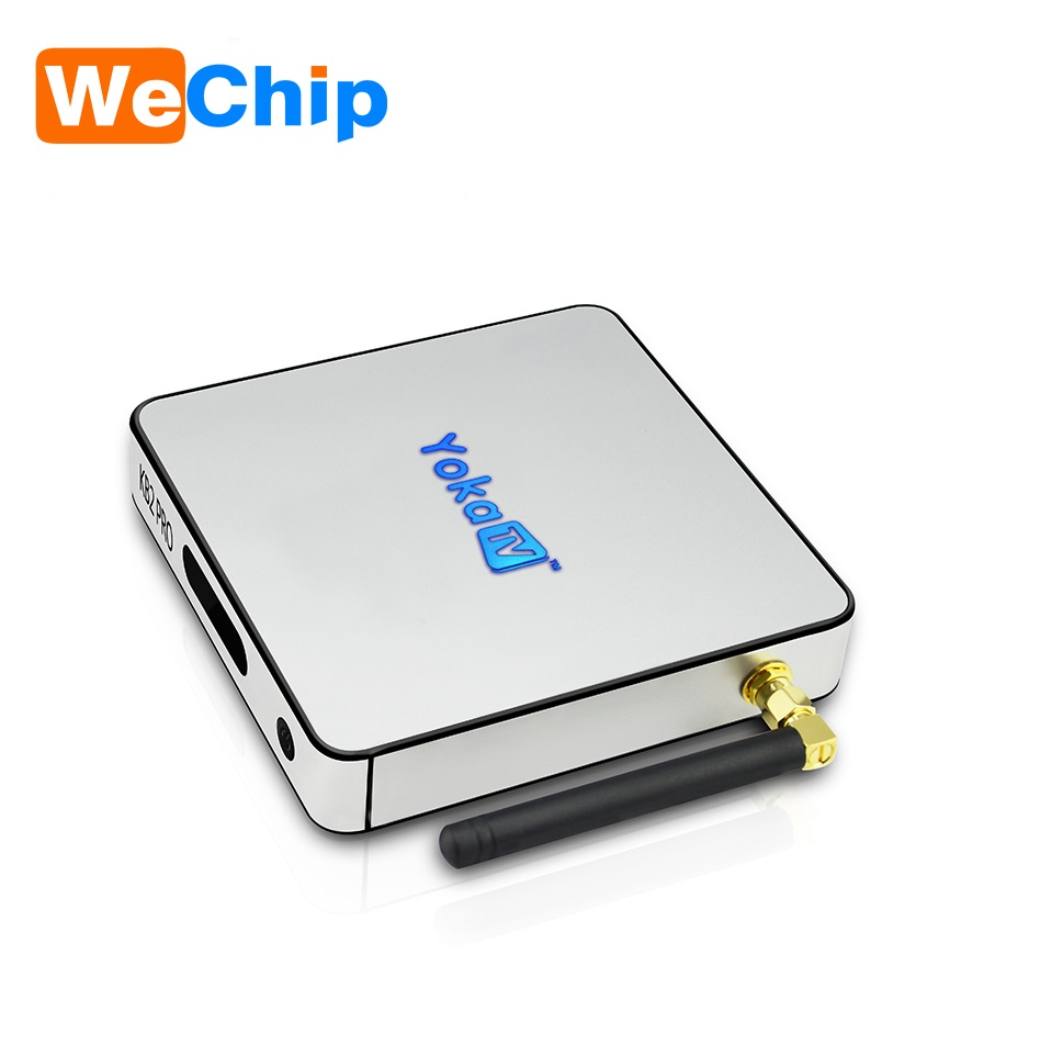 Digital Cable Tv Set Top Box Wechip kB2 pro smart tv box 4k satellite receiver 1000M Ethernet KB2 Pro Octa core TV Box android