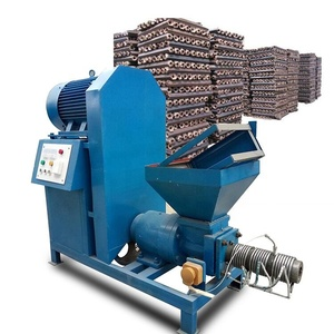 High capacity screw type biomass briquette press machine Thailand