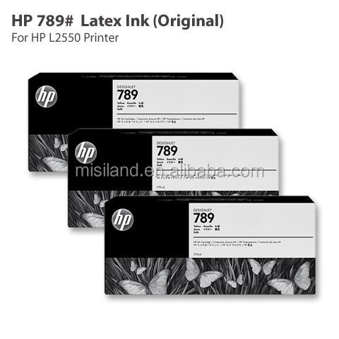 Genuine Original HP 789 latex ink cartridge for HP Designjet L25500 (hp original ink cartridge)