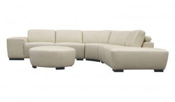 recliner sofa-Milano Leather Sectional Sofa