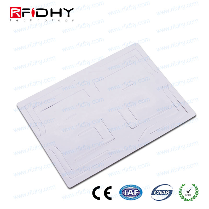 long read range uhf car windshield anti-tamper rfid tag with Alien H3 chip