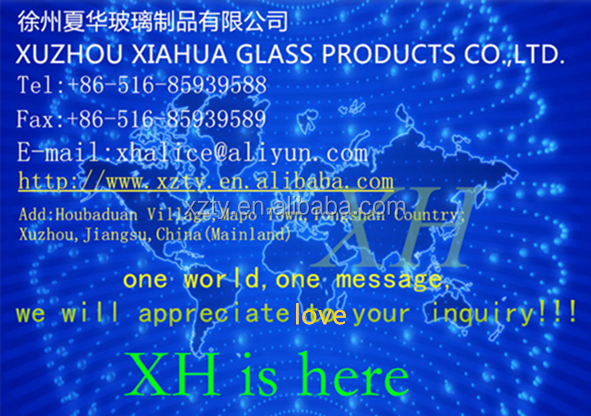 1000ml 2000ml 3000ml 4000ml,5000ml Jug - Clear Gallon Glass Jug with Blk Plastic Lid