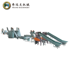 used and waste Plastic Bottle Flakes Washing Recycing Line