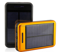 Solar Power Bank 20000mah Portable Power Bank 18650 External Battery Charger High Capacity Fast Charge for Mobiles and Tablets