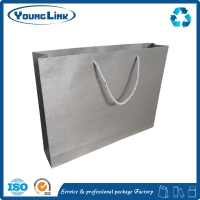 Recycling Material small moq eight side seal kraft paper bag