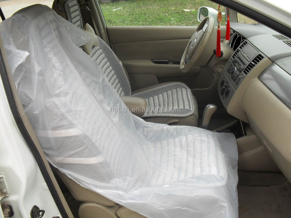 Clear Plastic Car Seat CoversPrinted Plastic Car Seat