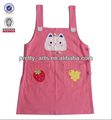hot sell cute recyclable 100% cotton apron customized for child