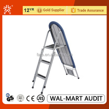folding mesh ironing board with ladder