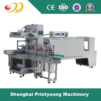 ST6040A+BSE6040A Automatic Sleeve shrink wrapping machine