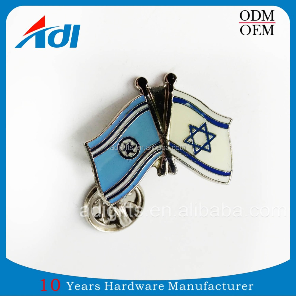 High Quality Flag Epoxy Coating Casting Lapel Pin