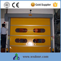 rolling screen door/rapid stacked roll up door made of high density fabric and PVC