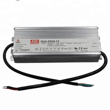 HLG-320H-54B Meanwell Triac Dimmable Led Driver Supply 320W IP67 Waterproof LED Street lighting Driver