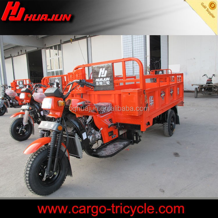 Update smart economic rural area driving 3 wheel motorcycle 2 wheels rear