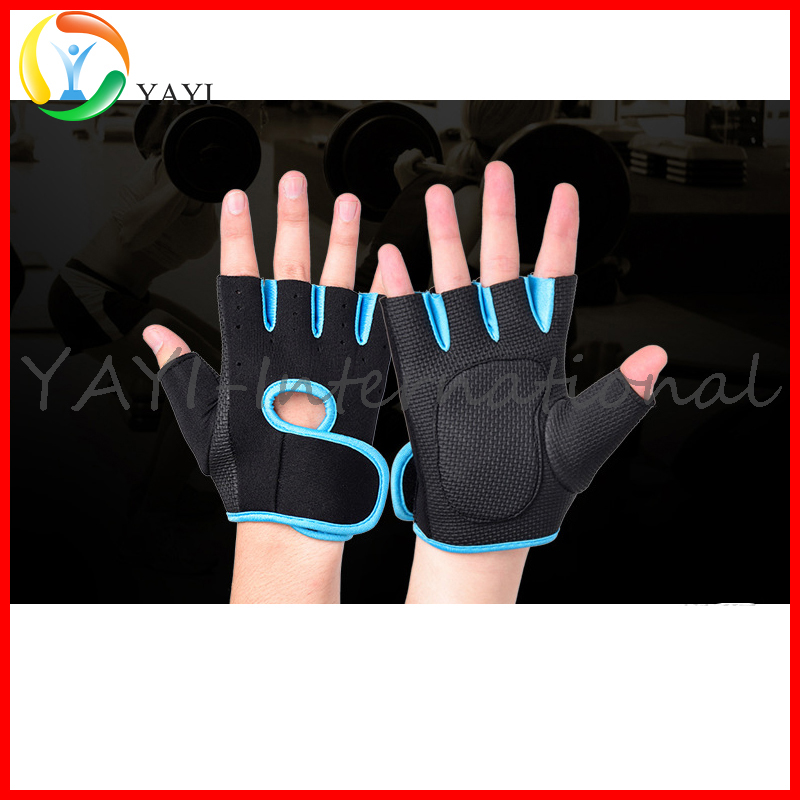Cheap Gym Neoprene Weight Lifting Fingerless Gloves