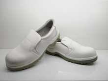 white shoes without lace ,waterproof shoe,women steel toe shoes