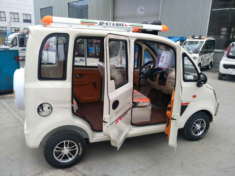 4 passenger mini adult atomic electric car vehicles manufacturer in China DF12