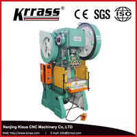KRRASS in stock J23 series mechanical power press, hand operated punch press