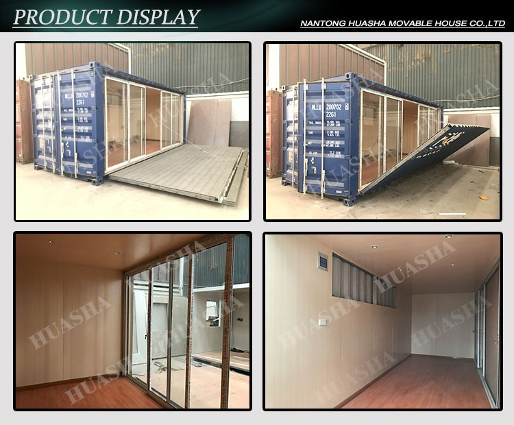 High quality panelized portable office buildings house