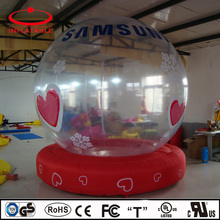inflatable decoration product transparent inflatable bubble tent