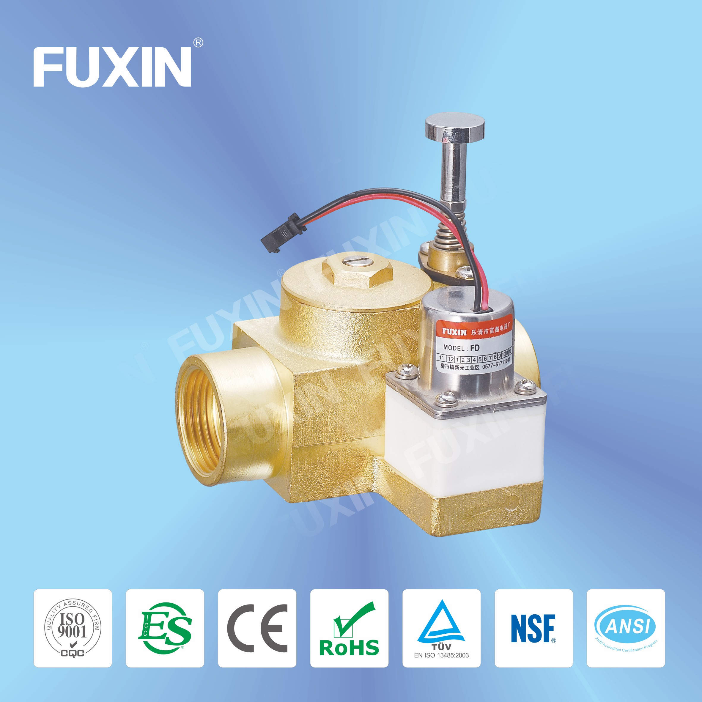 food grade solenoid 1/2 electric actuated butterfly valve
