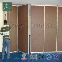 operable wall sliding folding movable acoustic partitions