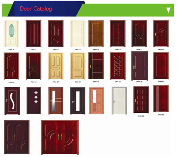 China Doors Manufacturer Environmental Cheap Particle Wood Semi ...