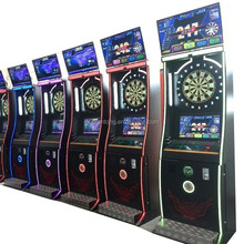 Coin Operated Electronic Amusing Dart Game Machine Arcade Dartboard Dart Machine For Sale
