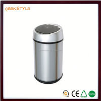 Factory direct stainless steel burshed silver sensor recycle plastic roro