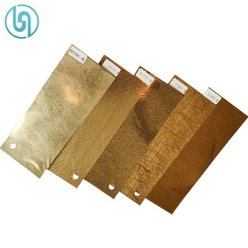 Metallic Gold Silver Hot Stamping Printing Foil For PS Photo Frame Moulding Profile