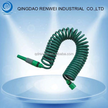 EVA Hose Coiled Spiral Pipe Stretch Garden Hose With Nozzle/Water Hose