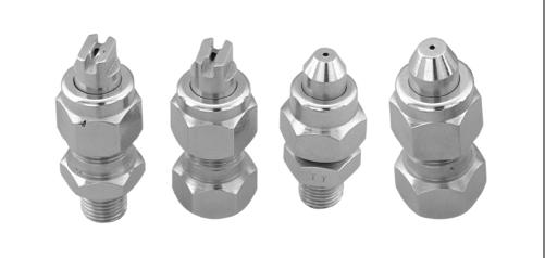 SJV THREE-PIECE FULL CONE FLAT FAN SPRAY NOZZLE